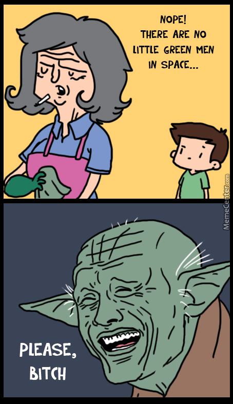 Disapproves This, Yoda