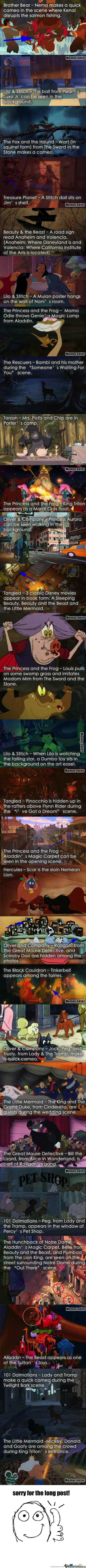 Disney Characters Found In Other Disney Movies