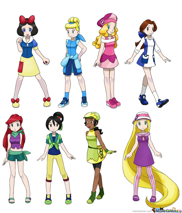 Disney Pokemon Princesses