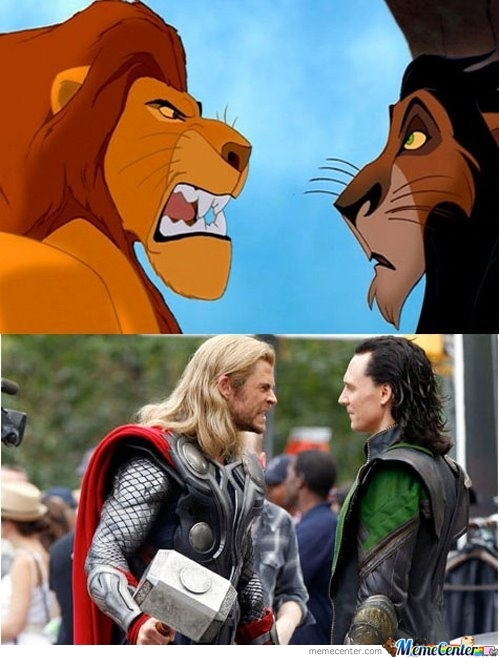 Disney-Thor Look Alike