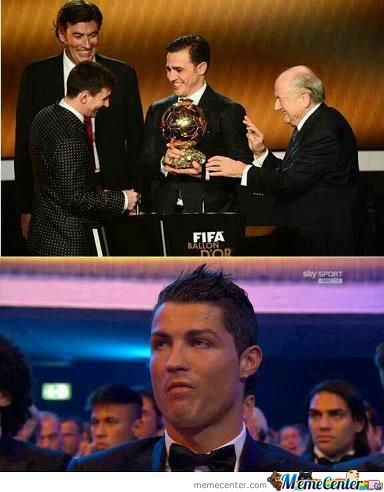 Dissapointed Cristiano