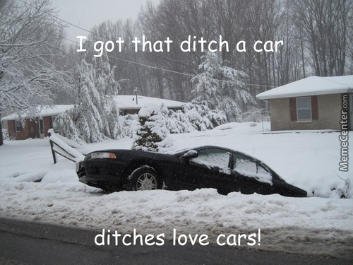 Ditch Please...