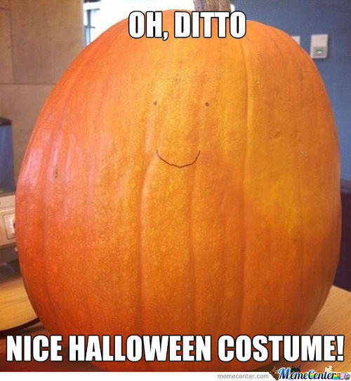 Ditto Used Transform. It Was Halloweenly Effective!