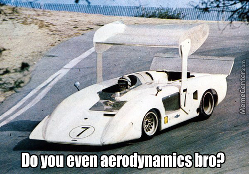 Do You Even Aerodynamics Bro?
