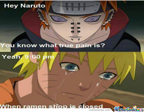 Do You Even Know Pain Naruto?