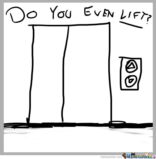 Do You Even Lift, Literally