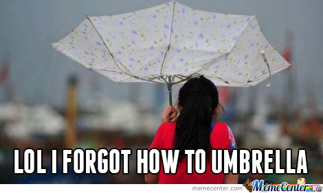 Do You Even Umbrella?