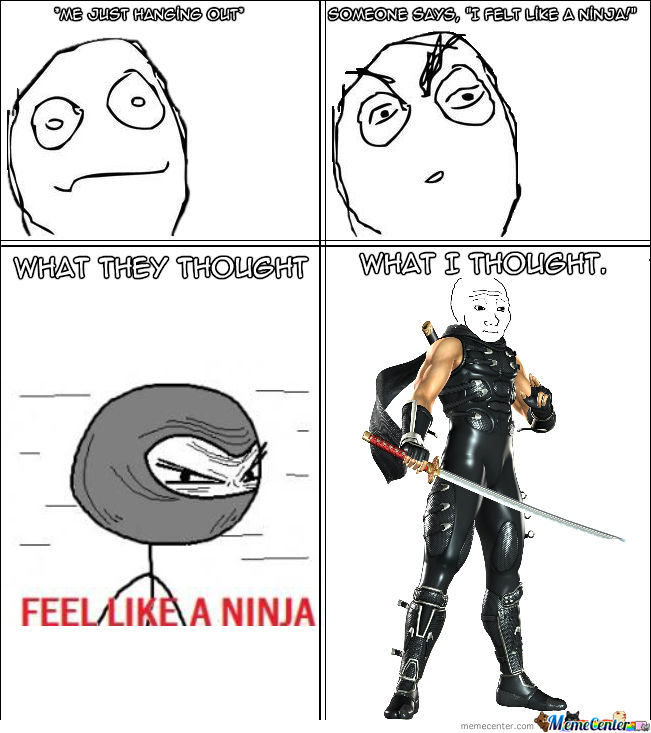 Do You Feel Like A Ninja?
