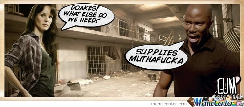 Doakes Meets The Walking Dead