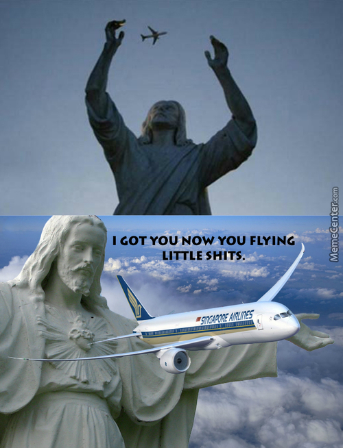 Does Flying Go Against The Bible? Sounds Like It Does. Yet Again Jesus Can Walk On Water So I Dont Know.