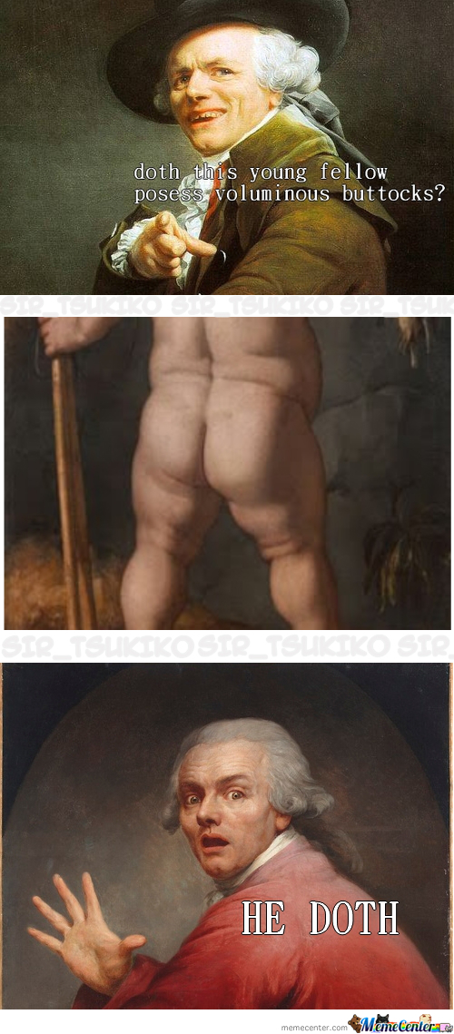 Does He Have The Booty?