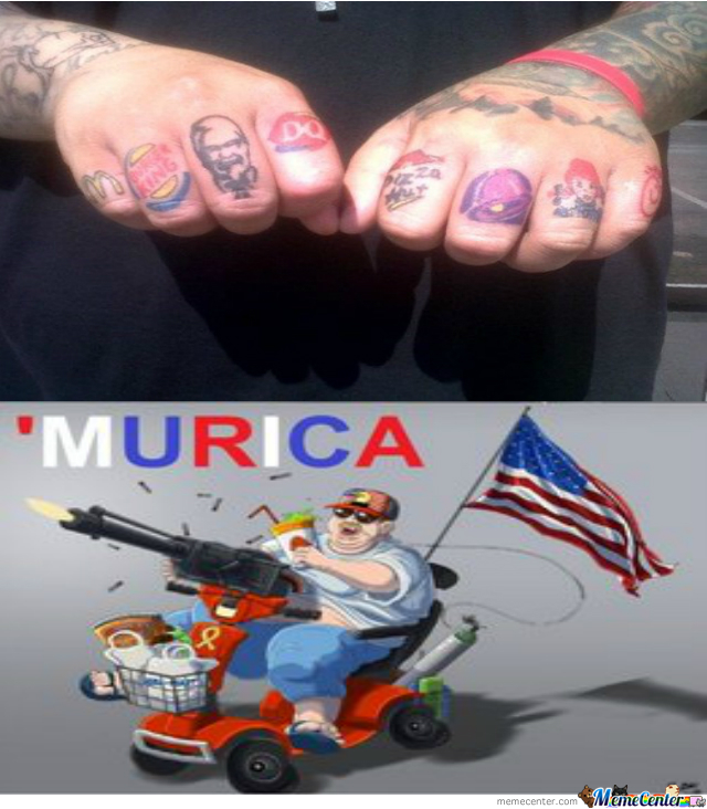 Does It Get Anymore 'merican?