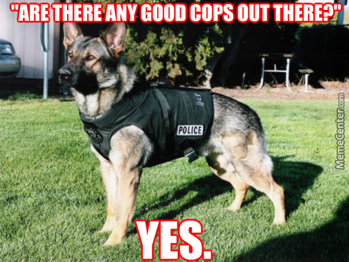 Doggie Cops Are The Best Cops :3