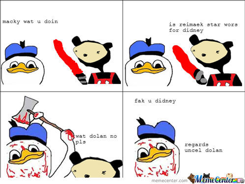 Dolan Says Fak U Disney