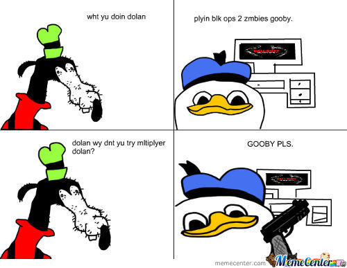 Dolan Trying Black Ops 2