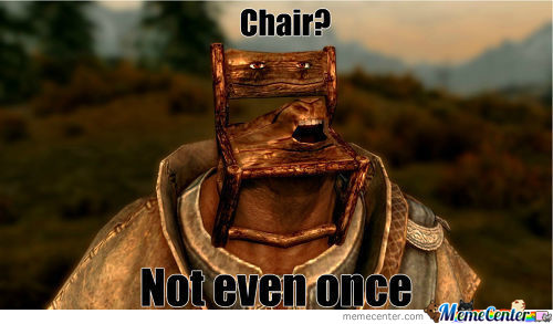 Don't Do Chairs