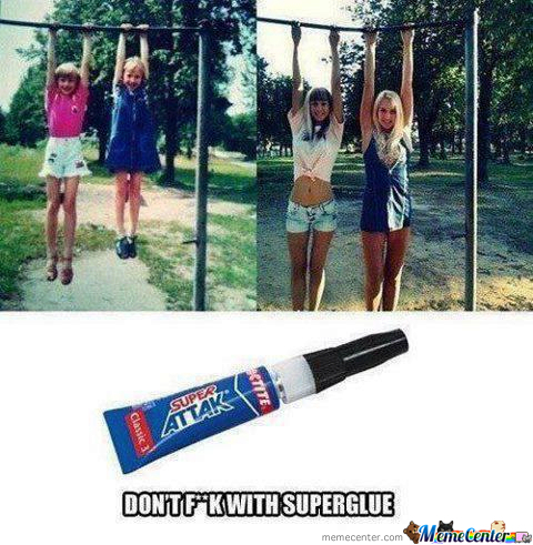 Don't F**k With Superglue Kids