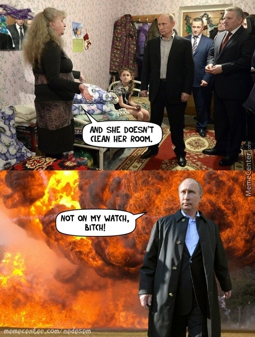 Don't F**k With Uncle Putin