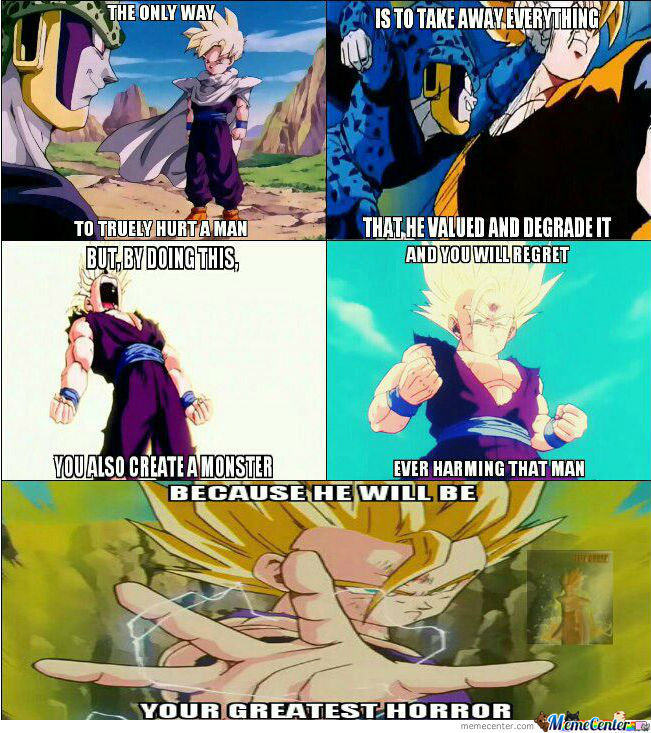 Don't Fuck With Teen Gohan