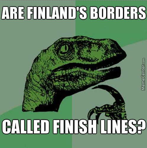 Don't Go To Finland,i Heard Their Plane Disappear In Finnair