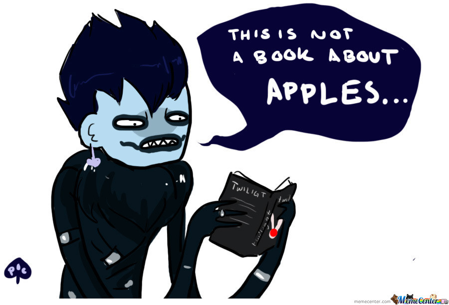 Don't Judge A Book By The Cover, Ryuk