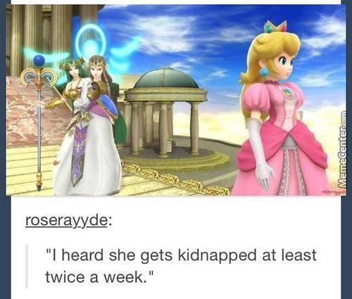 Don't Listend To Them, Peach. You're Still The Best Princess Over Here