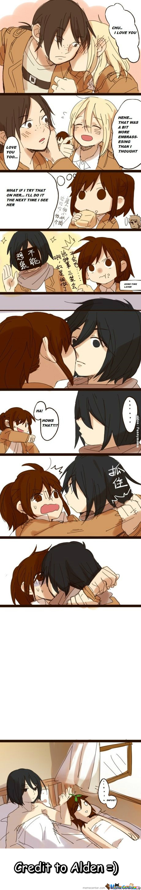 Don't Mess With Mikasa :3