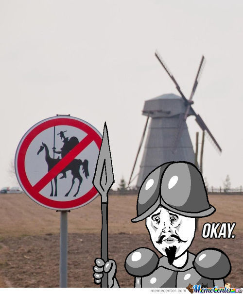 Don Quixote Is Sad