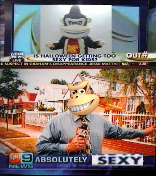 Donkey Kong Is Too Sexy For Kids