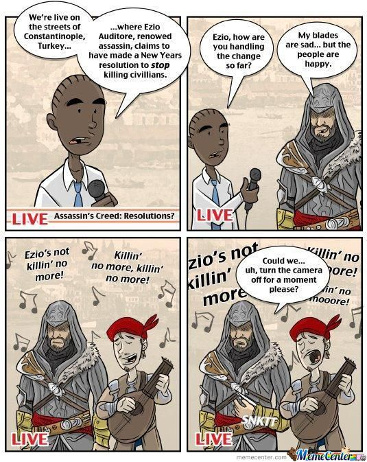 Don't Fuck With Ezio