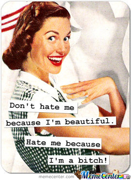 Don't Hate Me Because...