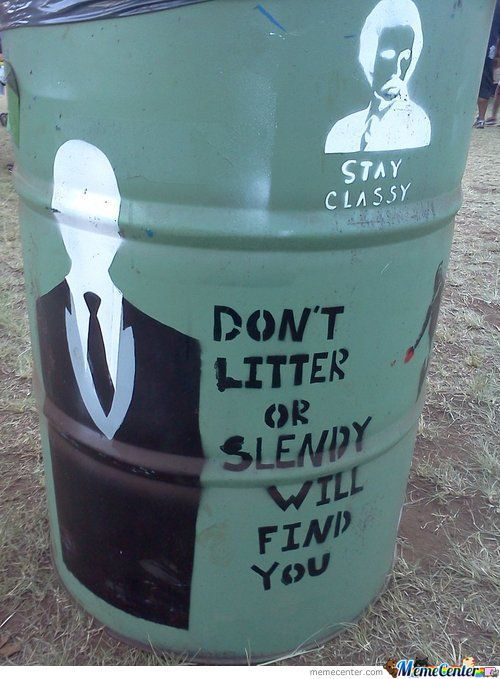 Dont Litter And Stay Classy
