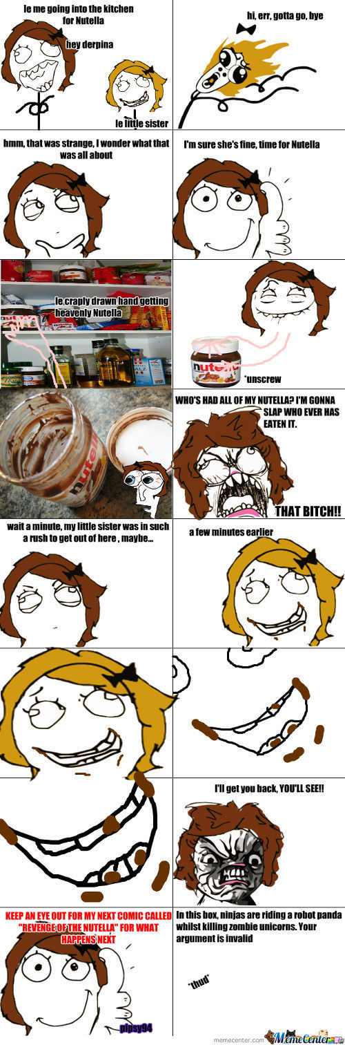 Don't Touch My Nutella