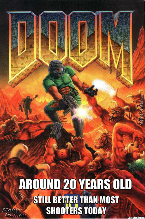 Doom Is Like The Grandfather Of Shooters
