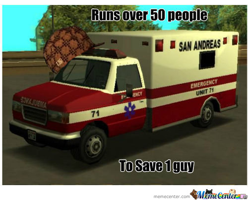 Douchebag Ambulance