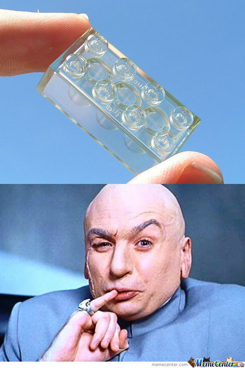 Dr. Evil Started His New Job At Lego