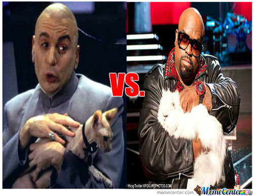 Dr. Evil Vs Celo Green