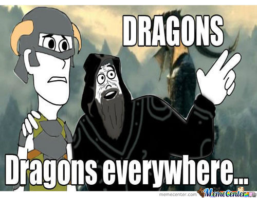 Dragons Everywhere