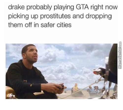 Drake That Type Of Nigga That Sits Down When Pissing