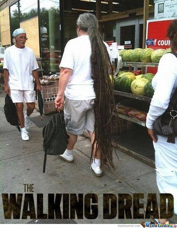 Dreadman Walking