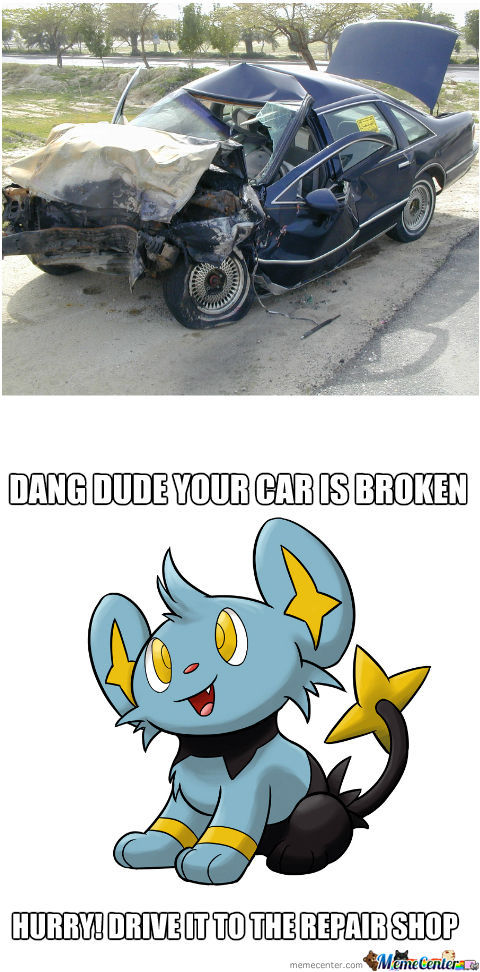 Drive That Broken Car!