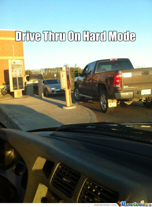 Drive Thru On Hard Mode