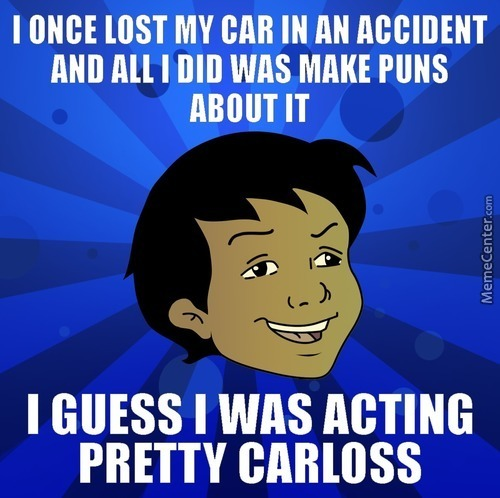 Driving Cars Is Pun!