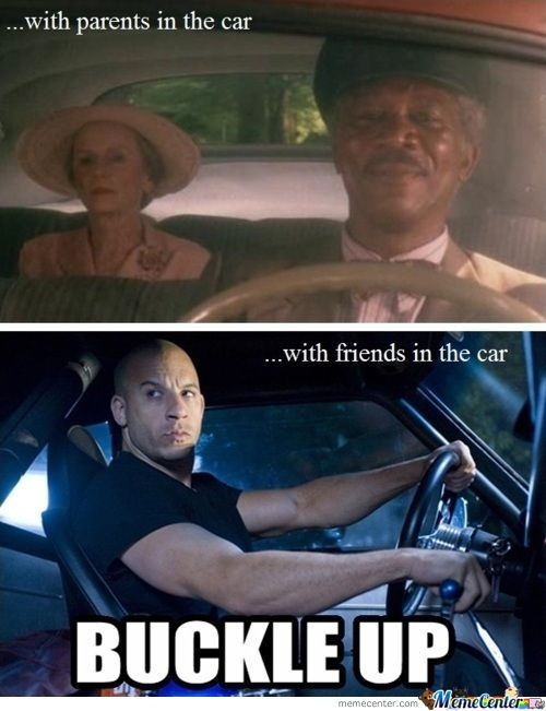 Driving With Parents Vs Friends