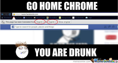 Drunk Chrome.