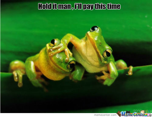 Drunk Frogs