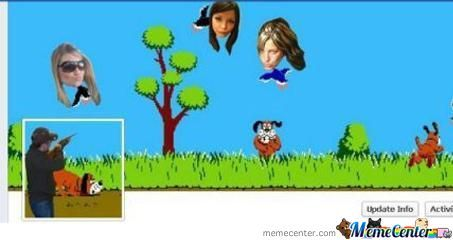Duck Hunting On Facebook