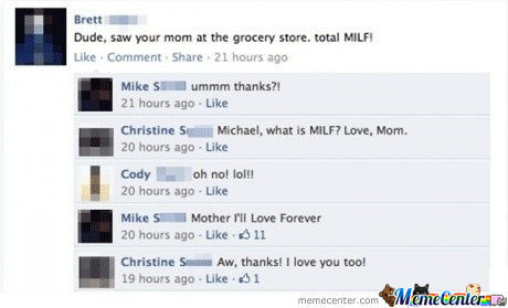 Dude, Saw Your Mom At The Grocery Store