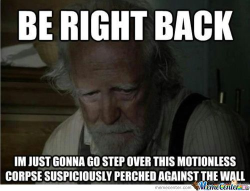 Dumb Guy Da-Wait...hershel!