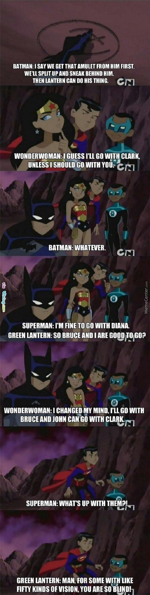 Dumb Superman.